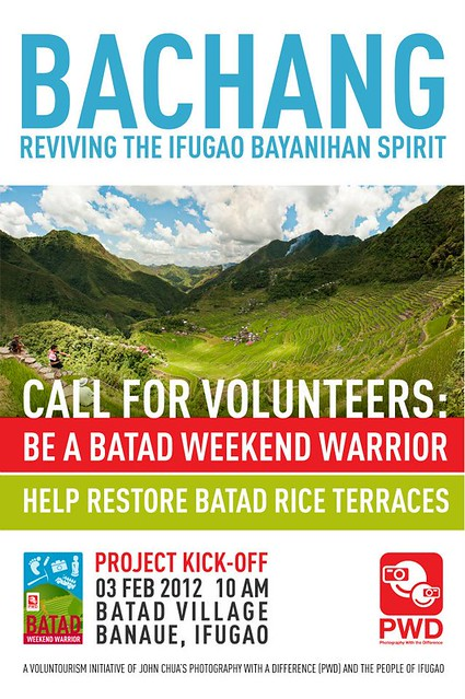 Bachang: Revive the Batad Rice Terraces
