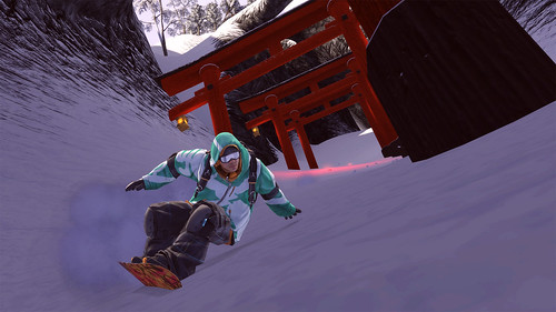 SSX for PS3: Mt. Fuji (exclusive)