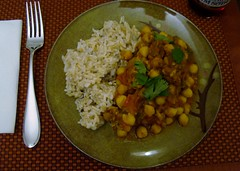 Post Punk Kitchen Chana Masala