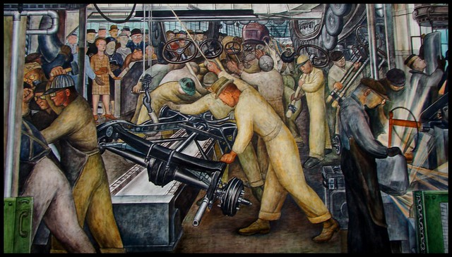 Detroit Institute of Art ~ Diego Rivera Mural