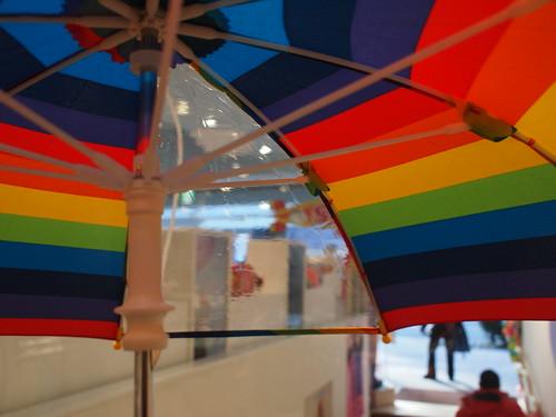 子ども用の傘_内側
