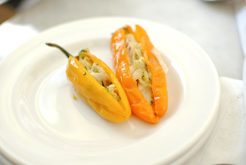 peppers with tuna