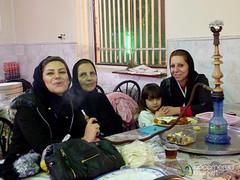Three Generations of Iranian Women - Kermanshah, Iran