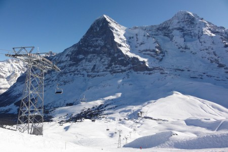 Jungfrau - lyžařský železniční park s nejkrásnějším panoramatem (report)