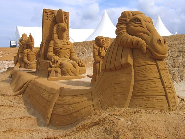 Sand Sculptures, Le Touquet, Région Nord-Pas-de-Calais, France