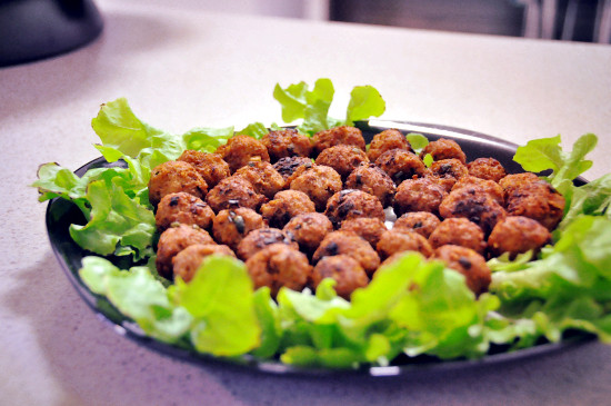 CNY Day 2: Deep Fried Pork Meat Balls