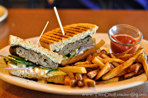 Lamb Burger at Kafe 421 ~ Minneapolis, MN