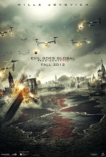 Resident Evil Retribution - Poster