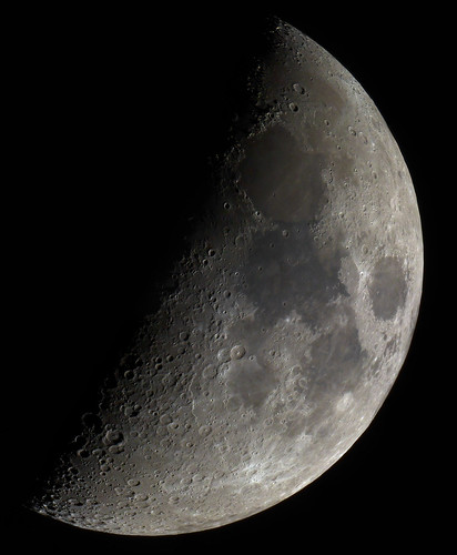 The Moon 300112 [explored] by Mick Hyde