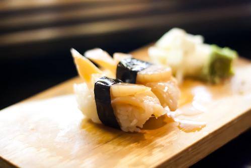 Clam Sushi at Kaito
