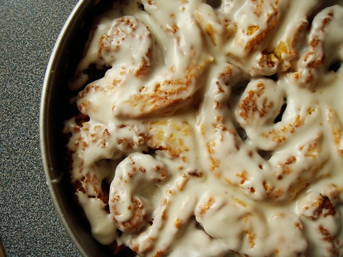 Buttermilk Cinnamon Rolls: Drenched