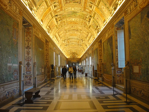 Gallery of the Maps, Vatican Museums