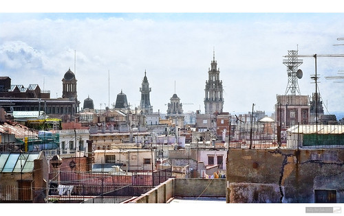 The Rooftops of Cadiz