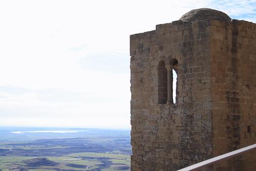 Torre vigía del castillo de Loarre