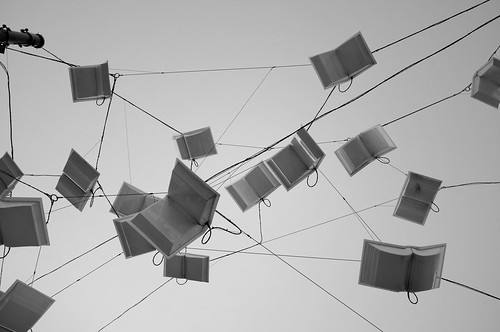 Flying Books.