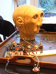 Automata head with circuitry