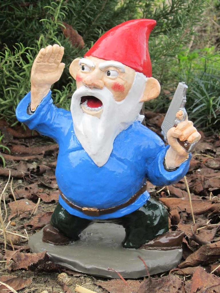 Gnome Garden: When My Brain Leaks, The Drops Drip Here.: Gnome Again