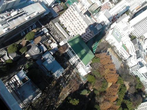 東京タワー 影