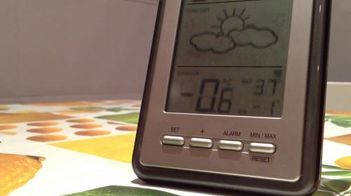 33% Ola de frío siberiano