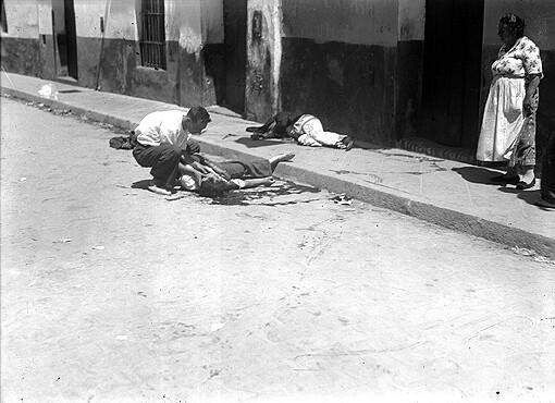 Fusilados en el barrio de Triana (Sevilla) el 21 de julio de 1936