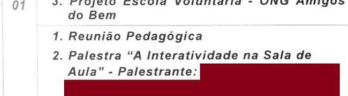 "Palestra: ""A Interatividade na Sala de Aula"""
