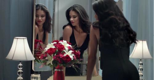 Adriana Lima Teleflora Super Bowl Commercial