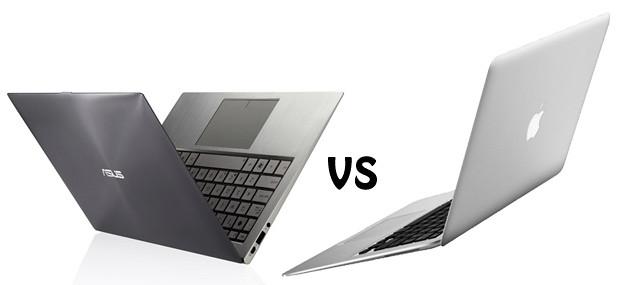 Asus Zenbook vs Apple MacBook Air