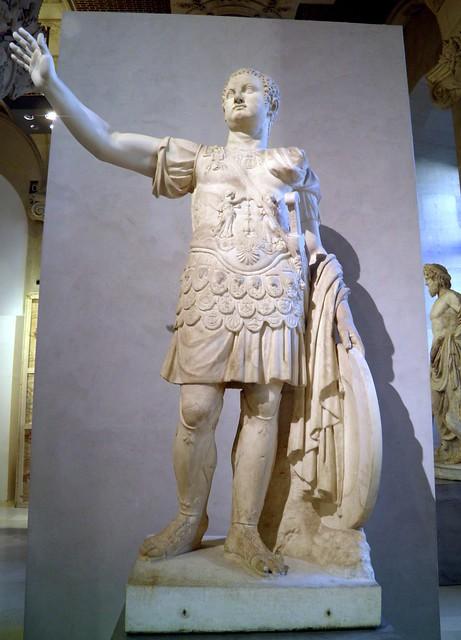 Statue de l'empereur Titus, fin du Ier siècle après J.-C., Louvre Museum, Paris