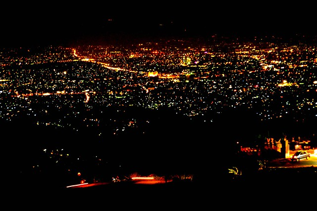 Pemandangan Kota Bandung Malam Hari Flickr Photo Sharing