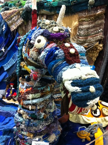 Yarn sea monster