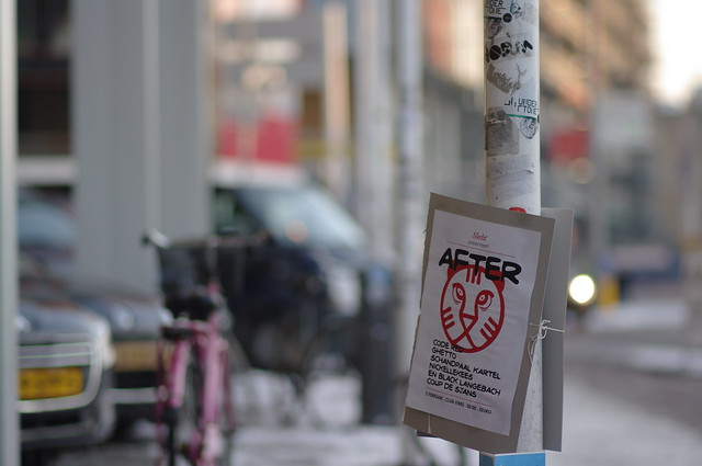 IFFR 2012 afterparty sign