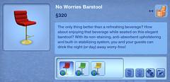 No Worries Barstool