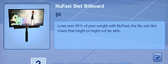 NuFast Diet Billboard