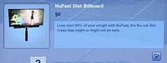 NuFast Diet Billboard