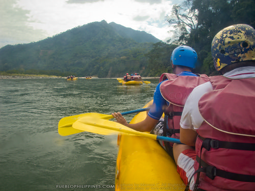 White Water River Rafting - Tabuk - Kalinga, Philippines (113923 - 120123)