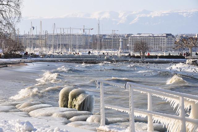 Geneva under frost