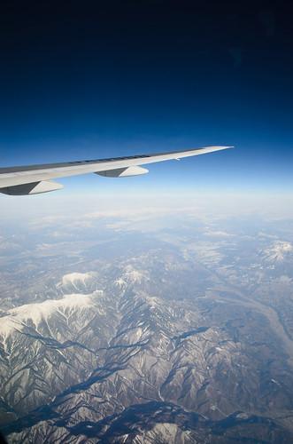 Flight to Nagasaki