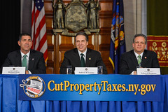 Governor Cuomo Announces Bipartisan Support in Push to Cut Property Taxes