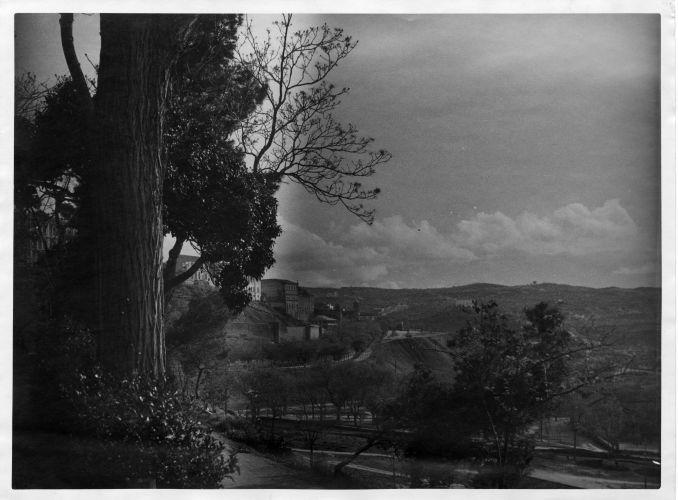 Paseo de Merchán a comienzos del siglo XX © FondoRodríguez. Archivo Histórico Provincial. JCCM. Signatura CGD2-072