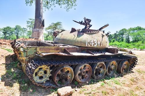 Tank in Caxito