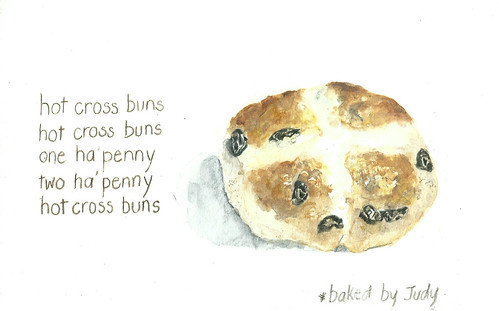 18Apr14 Hot Cross Buns