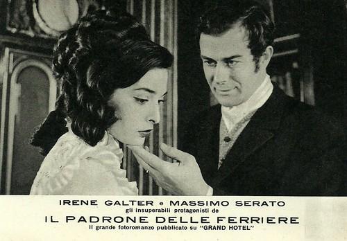 Massimo Serato and Irene Galter in Il padrone delle ferriere