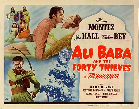 Ali Baba and the Forty Thieves - Poster 5