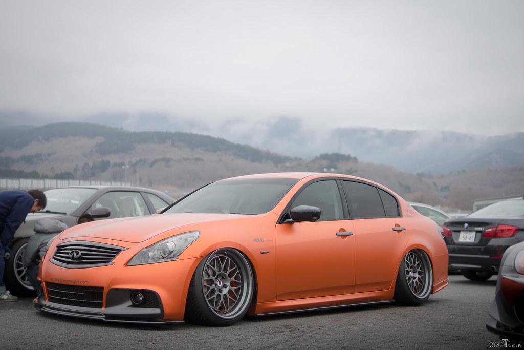 Orange Wrap G37