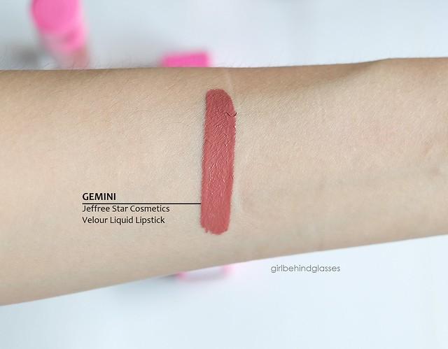 Jeffree Star Velour Liquid Lipstick Gemini swatch