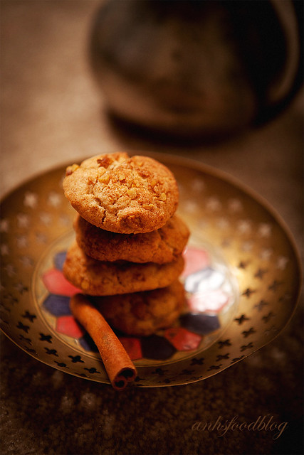 Finnish Cinnamon Walnut Cookies