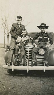 Little Cowboys and Car