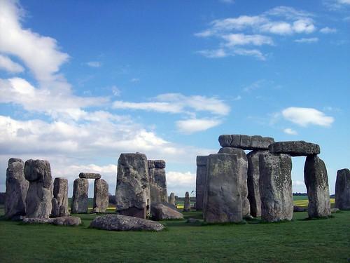 無料写真素材, 建築物・町並み, 遺跡, ストーンヘンジ, 世界遺産, 風景  イギリス