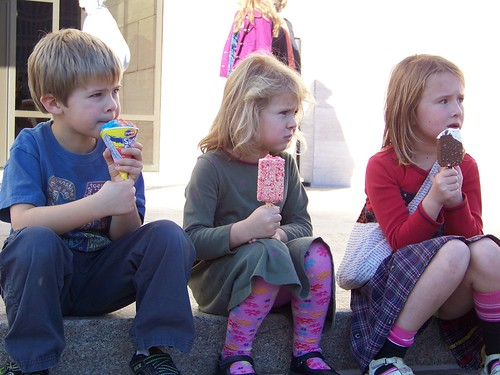 Three with ice cream II