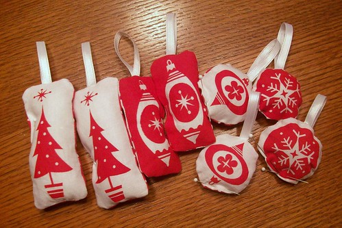 christmas craft: ornaments